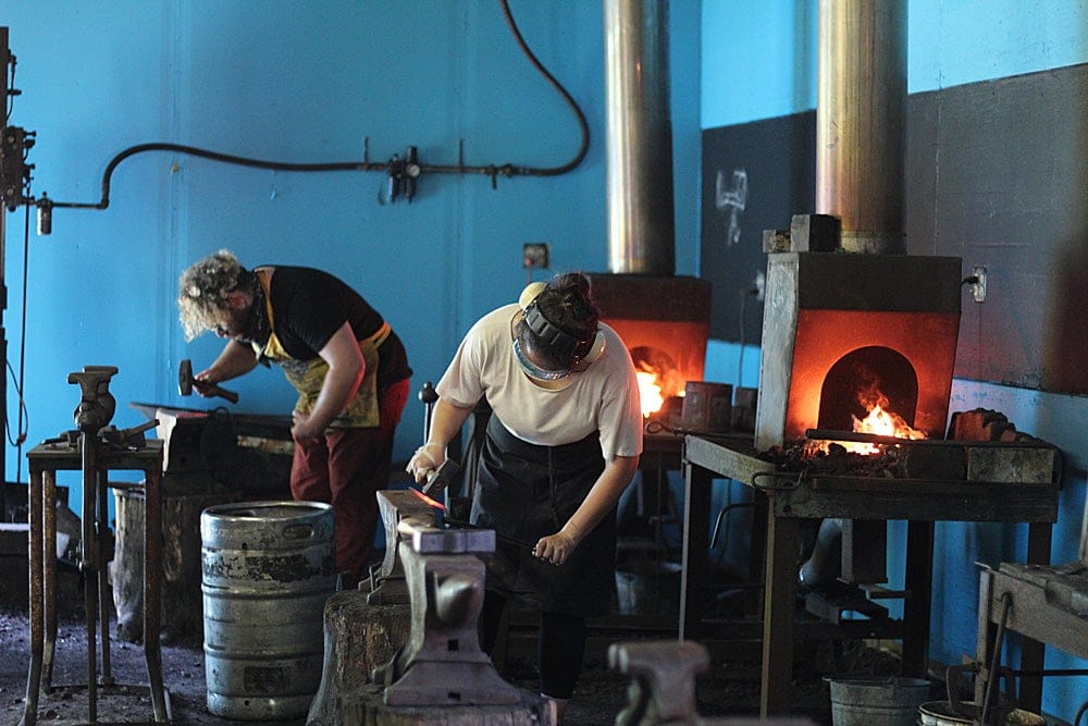 Peters Valley Blacksmithing
