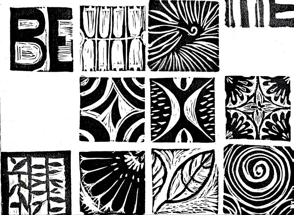 Jeanne Brady - print samples
