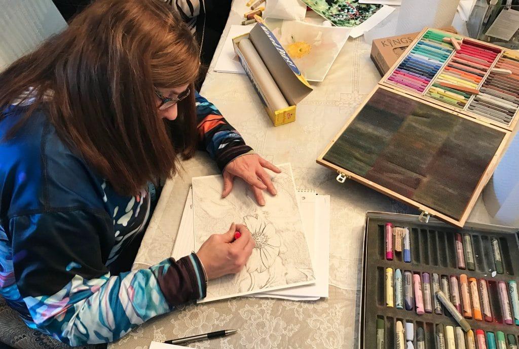 Ori hand coloring