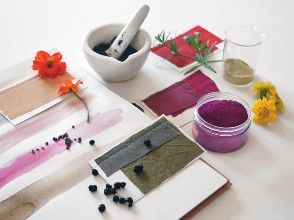 natalie stopka - dye ink pigment 1