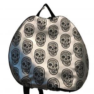 handbag with skulls