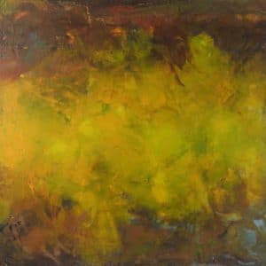 abstract painting with earth tones